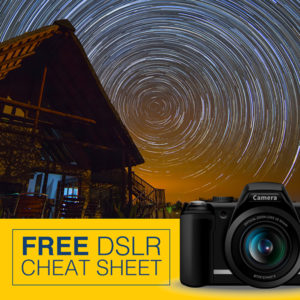 Free DSLR Cheat Sheet