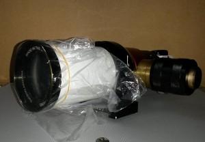 solar flat field telescope prep