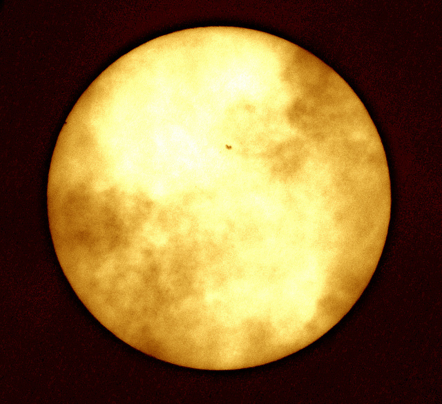 Graham Hard Mercury Transit first contact