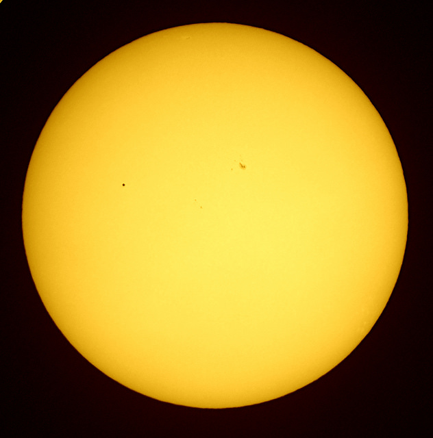 Graham Hard Mercury Transit in white light