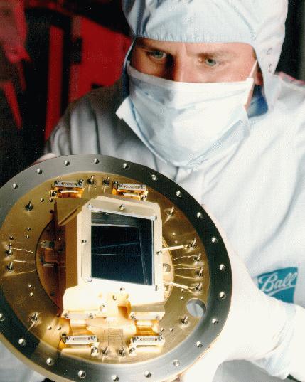 Technician Holding ACS WFC CCD