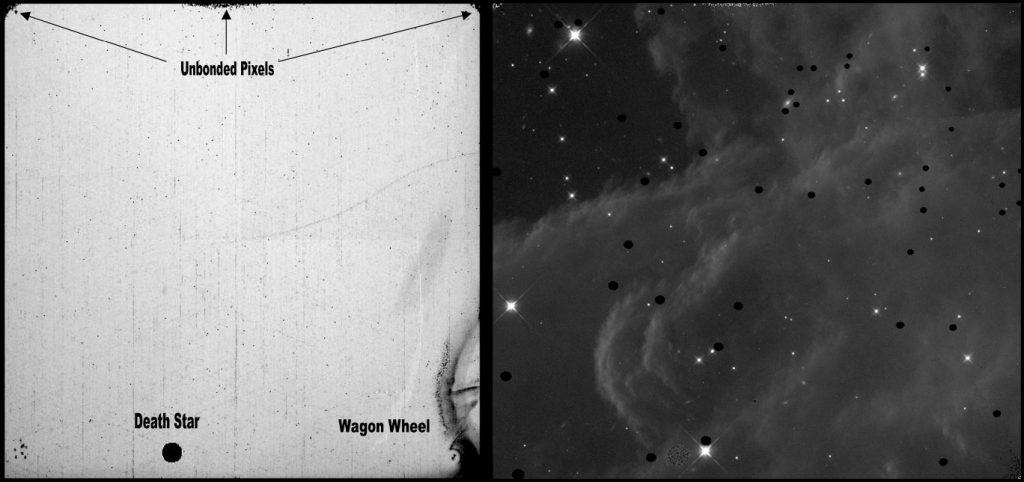 WFC3_IR_GroundFlat_and_HorseHeadblobs