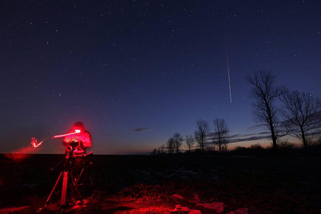 Alex Conu geminid meteor
