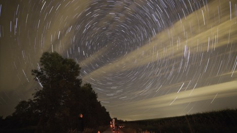 Star trails Cory