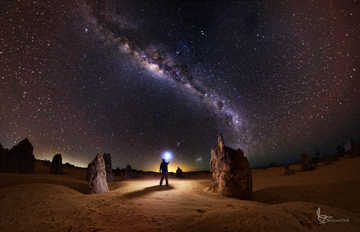 How To Take an Astrophotography Self Portrait With Light ...