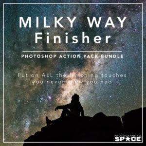 PS.com Milky Way Finisher Photoshop Action Bundle
