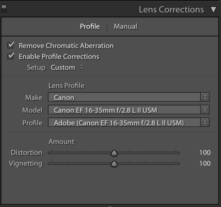 chromatic aberration removal