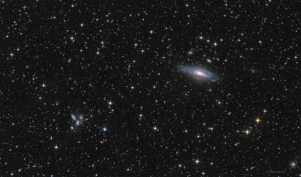 Peter Feltoti NGC 7331 and Stephan's quintet